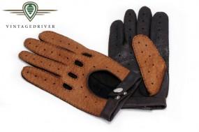 Fahrerhandschuh aus Peccary Leder