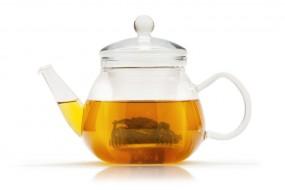 Glas-Teekännchen